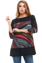 Load image into Gallery viewer, Jostar Women's HIT Double Contrast A-Line Top-352HT-QPC-W255 - Jostar Online