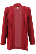 Load image into Gallery viewer, Jostar Women's Non Iron Drape Jacket Long Sleeve Plus, 400AY-LX - Jostar Online