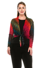 Load image into Gallery viewer, Jostar Women's Onion Skin Long Sleeve Bolero Long Sleeve Print, 422SK-LP-W182 - Jostar Online