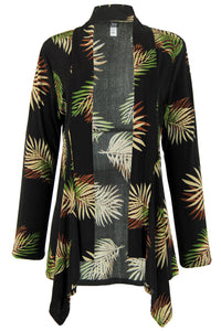 Jostar Women's Stretchy Print Mid Cut Jacket Long Sleeve Print, 428BN-LP-W002 - Jostar Online