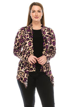 Load image into Gallery viewer, Jostar Women's Stretchy Print Mid Cut Jacket Long Sleeve Print, 428BN-LP-W088 - Jostar Online