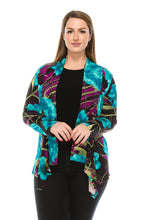 Load image into Gallery viewer, Jostar Women's Stretchy Print Mid Cut Jacket Long Sleeve Print Plus, 428BN-LXP-W087 - Jostar Online