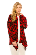 Load image into Gallery viewer, Jostar Women's Stretchy Print Mid Cut Jacket Long Sleeve Print Plus, 428BN-LXP-W173 - Jostar Online
