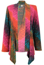 Load image into Gallery viewer, Jostar Women's Stretchy Print Mid Cut Jacket Long Sleeve Print Plus, 428BN-LXP-W182 - Jostar Online