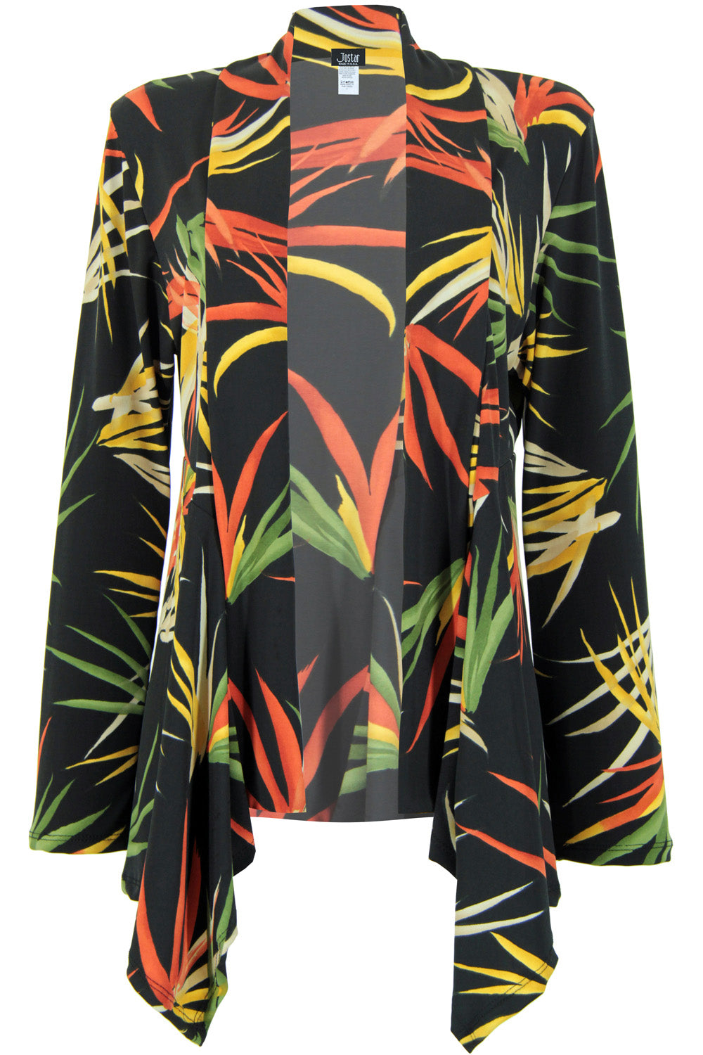 Jostar Women's Stretchy Print Mid Cut Jacket Long Sleeve Print Plus, 428BN-LXP-W679 - Jostar Online
