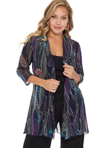 Jostar Women's MR Princess Jacket Print Quarter Sleeves, 472MR-QP-W234 - Jostar Online