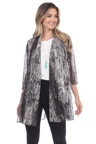 Jostar Women's MR Princess Jacket Print Quarter Sleeves, 472MR-QP-W238 - Jostar Online