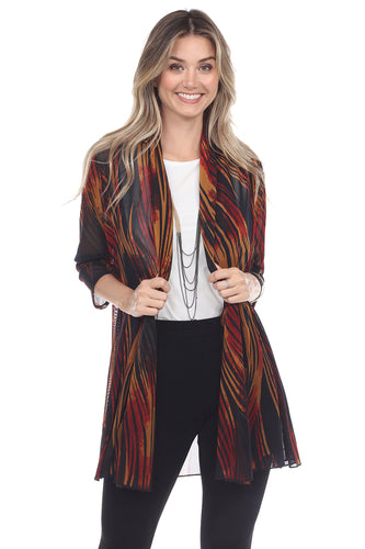Jostar Women's MR Princess Jacket Print Quarter Sleeves, 472MR-QP-W243 - Jostar Online