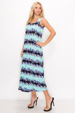 Load image into Gallery viewer, Jostar Women's Stretchy Long Tank Dress Print, 700BN-TP-W276 - Jostar Online