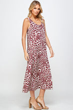 Load image into Gallery viewer, Jostar Women's Stretchy Long Tank Dress Print 700BN-TRP1-W302