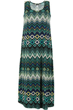 Load image into Gallery viewer, Jostar Women's Stretchy Long Tank Dress Print, 700BN-TP-W041 - Jostar Online