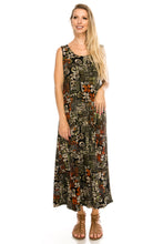 Load image into Gallery viewer, Jostar Women's Stretchy Long Tank Dress Print, 700BN-TP-W167 - Jostar Online