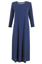 Load image into Gallery viewer, Jostar Women's Stretchy Long Dress 3/4 Sleeve Print, 702BN-QP-W990 - Jostar Online