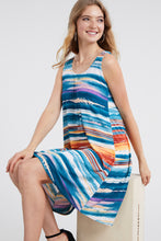 Load image into Gallery viewer, Jostar Women's Stretchy Missy Tank Dress Print-703BN-TRP1-W213