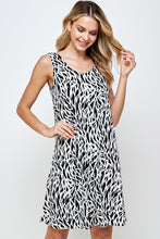 Load image into Gallery viewer, Jostar Women's Stretchy Missy Tank Dress Print Plus, 703BN-TXP1-W289