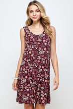 Load image into Gallery viewer, Jostar Women's Stretchy Missy Tank Dress Print Plus, 703BN-TXP-W683