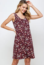 Load image into Gallery viewer, Jostar Women's Stretchy Missy Tank Dress Print-703BN-TRP1-W296