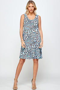 Jostar Women's Stretchy Missy Tank Dress Print Plus, 703BN-TXP-W302
