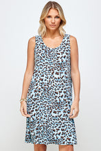 Load image into Gallery viewer, Jostar Women's Stretchy Missy Tank Dress Print Plus, 703BN-TXP-W302