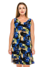 Load image into Gallery viewer, Jostar Women's Stretchy Missy Tank Dress Print, 703BN-TP-W104 - Jostar Online