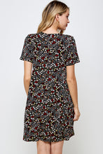 Load image into Gallery viewer, Jostar Women's Stretchy Missy Dress Short Sleeve Print,704BN-SP-W295