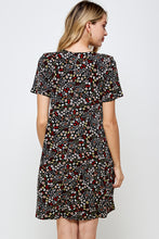 Load image into Gallery viewer, Jostar Women's Stretchy Missy Dress Short Sleeve Print-704BN-SRP1-W295