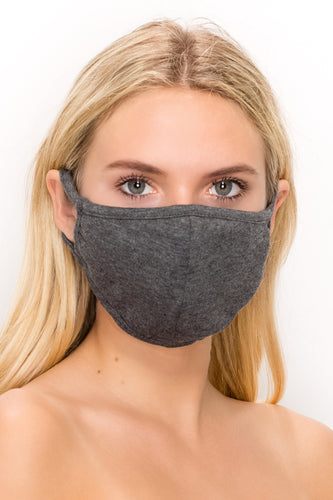 Large 2 pk-Cotton 3 Layered Reversible Washable Face Mask - Jostar Online