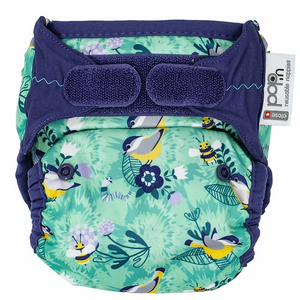 POP-IN NEW GEN V2 SINGLE NAPPY + BAMBOO (PATTERN)