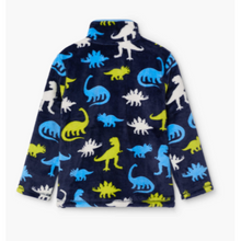 Load image into Gallery viewer, SILHOUETTE DINO FUZZY FLEECE