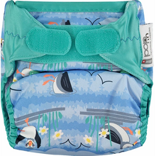 Load image into Gallery viewer, POP-IN NEW GEN V2 SINGLE NAPPY + BAMBOO (PATTERN)