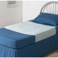 Bed Pad 100cm x 100cm with Tuck In Flaps – suits single & king single bed sizes