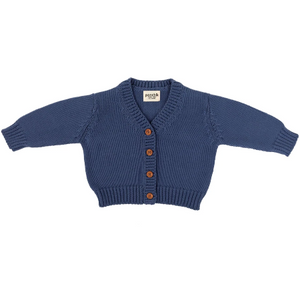Ponchik Cotton Knitted Cardigan