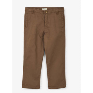Khaki Stretch Twill Pants