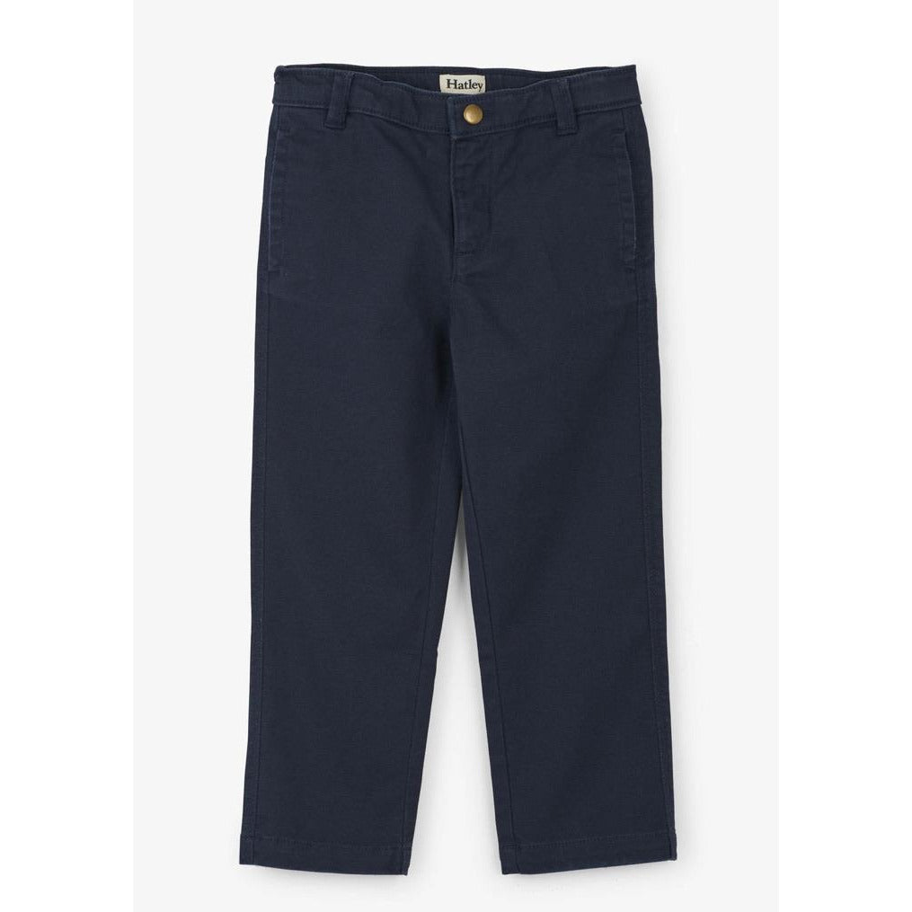 Navy Twill stretch pants