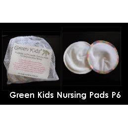 Washable and reusable nursing pads