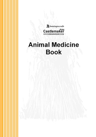 Personalised: Animal Medicine Record Book (A5) M002 (Packs of 10)
