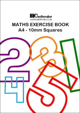 Maths Exercise Book (A4) E175