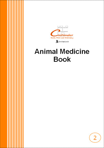 Animal Medicine Combined Record Book (A5) M002