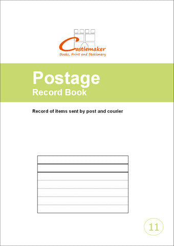 Postage Record Book (A4) P011