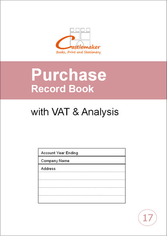 Purchase Record Book (A4) P017