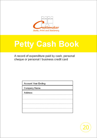 Petty Cash Book (A4) P020