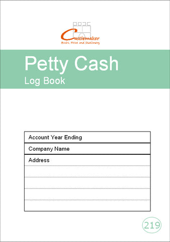 Petty Cash Log Book (A5) P219