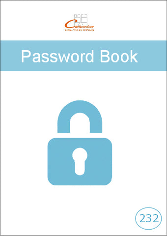 Password Book (A6) P232