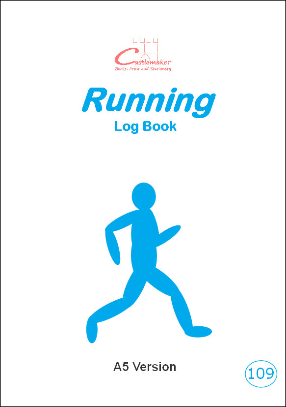 Running Log Book (A5) R109