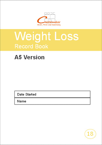 Weight Loss Record Book (A5) W018