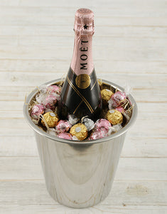 Moet Rose Ice Bucket - Gift baskets by Amora