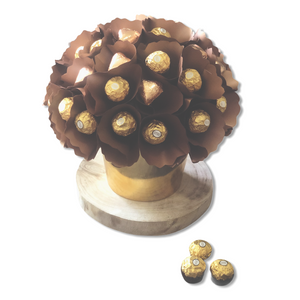 Ferrero Rocher Indulgence Chocolate Bouquet - Gift baskets by Amora