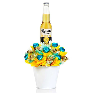Amora Beer Lover - Gift Hampers Dipped strawberries ferrero rocher bouquet gift baskets