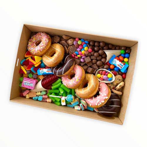Allens lollies and Donuts hamper - Gift baskets by Amora