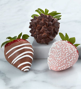 Gourmet Dipped Strawberries - Gift baskets by Amora